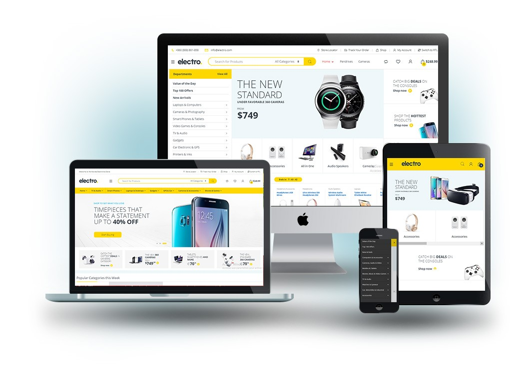 ecommerce websites - web2advisor.com